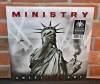 MINISTRY - Amerikkkant, Limited COLORED VINYL LP Gatefold Jacket New & Sealed!
