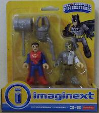Imaginext ~ DC Super amici ~ Superman & Metallo Action Figure