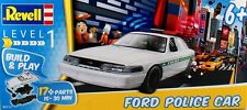 REVELL KIT 1:25 BUILD & PLAY FORD POLICE CAR  17 PARTI  ETA' 6+ ART 06112