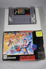 Mega Man X3 (Super Nintendo SNES) with Box FAIR #1 MegaMan