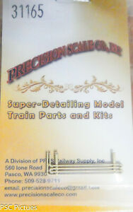 Precision Scale HO #31165 Coils, Cooling, for: 7' Air Tank (Brass Casting)