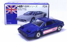 MADE IN JAPAN TOMY TOMICA F24 LOTUS ESPRIT SPORT CAR BLUE 1/69 DIECAST CAR RARE