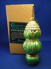 Potpourri Designs European Art Glass Ornament Lotus Final Made in Poland