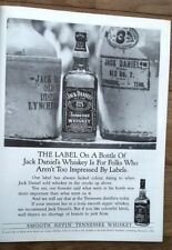JACK DANIELS 'smooth sippin' 1991 magazine ADVERT/Poster/clipping 11x8 inches