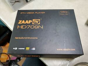 Open Box ZAAPTV HD709 IPTV Media Player