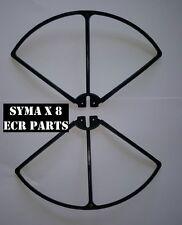 Syma X 8 X8C X8W X8G Quadrirotore QUAD DI RICAMBIO 2x nero elica eliche