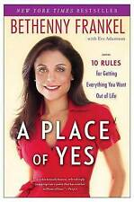 A Place of Yes By Bethenny Frankel Paperback Free Shipping