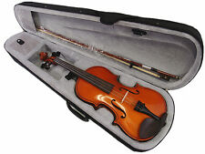 New Student Model - 4/4 New Solid Wood Violin +Bow+Rosin+Case+Free string set
