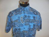 vintage Identic Hawaii Hemd hawaiihemd surf surfer shirt 90s surf Gr. L
