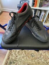 SLAYER Rare Vans Black leather Excellent Condition production sample 11.5