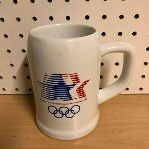 1984 United States Olympics XXIII Los Angeles Team Mug Stein L.A. Papel Brazil