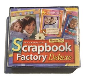 Art Explosion SCRAPBOOK FACTORY DELUXE Version 3.0, Nova Development 2005