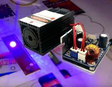 450nm 2000mW DPSS Blue Laser Module for Stage Light Show DIY CNC/TTL Modulation
