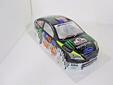 Focus Pre-Painted RC Body 1/10th Scale Ken Block Ford Monster HPI Trax Kyohso