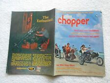 STREET chopper Magazine-JUNE,1972-MIKUNI'S GIANT NEW CARBURETOR
