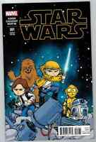 STAR WARS #1 (2015) MARVEL COMICS SKOTTIE YOUNG BABY VARIANT COVER NM