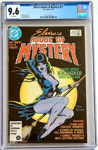 Elviras House Of Mystery #11 Dave Stevens Cover DC Comics CGC 9.6 1987