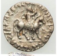 58-12 BC Indo-Scythian Kingdom, Azes I AR Tetradrachm XF
