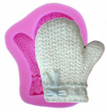 Mitten Silicone Mold for Fondant Gum Paste Chocolate Crafts