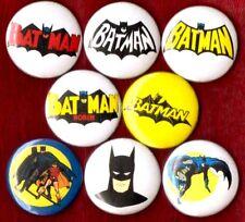 BATMAN 8 NEW button pin badge comic books DC party favors stocking stuffer