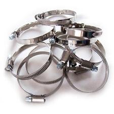 Schlauchschellen 40-60 mm 10 Stück Set W2 Edelstahl Stahl 9mm breit Bandschellen
