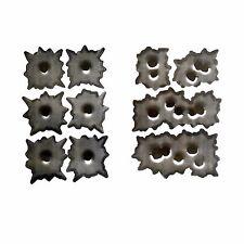 SPAR Sticker Set 4 + 6 Bullet Holes 3D Sticker Einschuss Loch Aufkleber Gun Shot