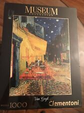 NEW Clementoni Museum Collection Van Gogh Cafe Terrace At Night 1000 Puzzle