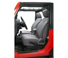 Bestop Front Seat Cover For 07-12 Jeep Wrangler 2- & 4-Door Charcoal #29280-09