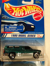 Pair Lot of 2 1995 Hot Wheels First Edition Dodge Ram 1500 (5 Spoke Wheels) MOC