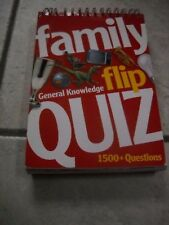 FAMILY FLIP QUIZ GENERAL KNOWLEDGE 1500+ QUESTIONS
