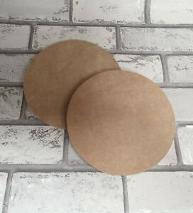 MDF Wooden Circle Shape 6mm Various Sizes
