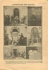 Inventaires Porte Eglise de Lavigny Jura & Montpeyroux Hérault 1906 ILLUSTRATION