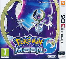 Pokemon Moon Nintendo 3DS Game NEW (PAL version) Multi-Language IN STOCK NOW