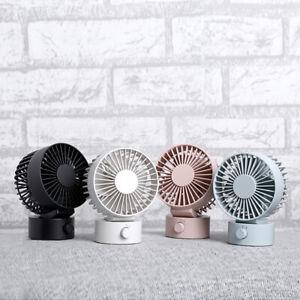 USB Turbo Ventilator Mini  Fan Tischventilator Geräuscharmer Desk Standventilato