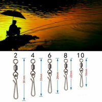 50X Swivel with Hanging Snap Fishing Tackle Angelhook Plug Fishing Accessories G
