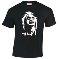 Beetlejuice Face Mens T Shirt S-5XL retro tee gift present