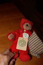 "NWT 1999 Boyds Bears Denton P Jodi Bear Jody Battagilia Designs 8"""