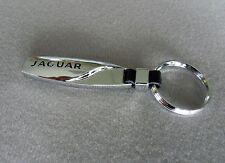 NEW - Nice Chrome Finish 3D Jaguar Key Ring Keychain Free US Shipping