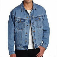 Men Denim Jacket Blue Autumn Winter 2020 New Fashion Vintage Jean Jackets Men's