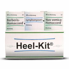Heel Detox Kit Berberis Homaccord Lymphomyosot Nux Vomica Homaccord 30ml 100ml