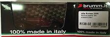 "DIE CAST BRUMM ""ALFA ROMEO 2300 BICOLORE OUVERT 1931 AMARANTE/NOIR"" R138-02 1/43"