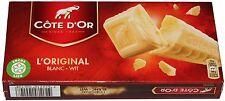 Côte d'Or Blanc/Wit 400g (2x200g) belgische weiße Schokolade Belgien