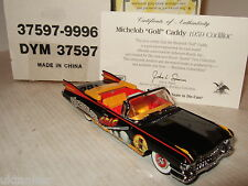 Nuevo Matchbox DYM37597, 1959 Cadillac Convertible Michelob Golf Modelo en 1:43