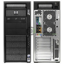 HP Z800 Workstation VA808UT Intel E5645 2.40GHz/ 4GB RAM/ 500GB HDD/ Win10