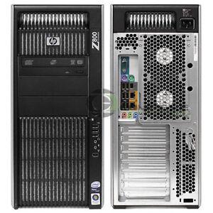HP Z800 Workstation FM011UT Intel X5650 2.66GHz/ 3GB RAM/ 500GB HDD/ FX1800