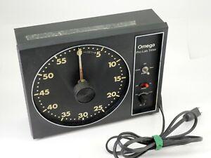 Vintage Omega Pro-Lab Darkroom Timer - No. 461-030. Tested. Works. (JR) - DT5