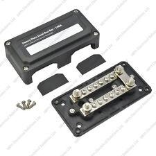 Heavy Duty Dual Bus Bar / Distribution Box & Screw On Cover - 100A - 16 Circuits