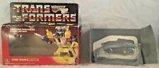Sunstreaker Package 1984 Vintage Hasbro G1 Transformers PreRub