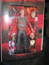 NECA Nightmare on Elm Street FREDDY KRUEGER Figure LIMITED Boxed phone masks