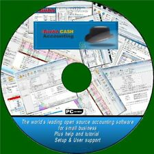 TURBOCASH 5 HOME SMALL & LARGE BUSINESS ACCOUNTING SOFTWARE SOLUTION CD ROM BEST